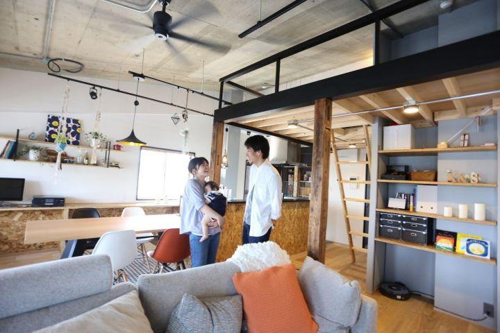 【リノベーション編】デザイナーのご主人様がこだわった、ベビーと家族がゆっくり過ごす家| 購入者インタビューvol.7