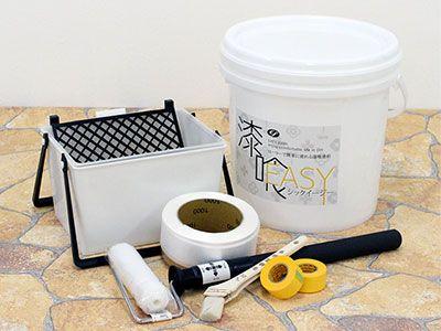 手軽に出来る!?ローラーで塗れる漆喰塗料をご紹介!