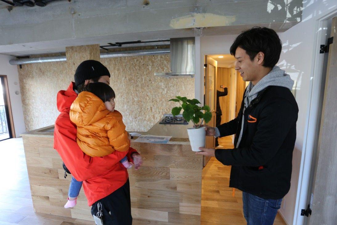 【現地取材】「アウトドア&DIY好きリノベ」~引き渡しの瞬間レポート~