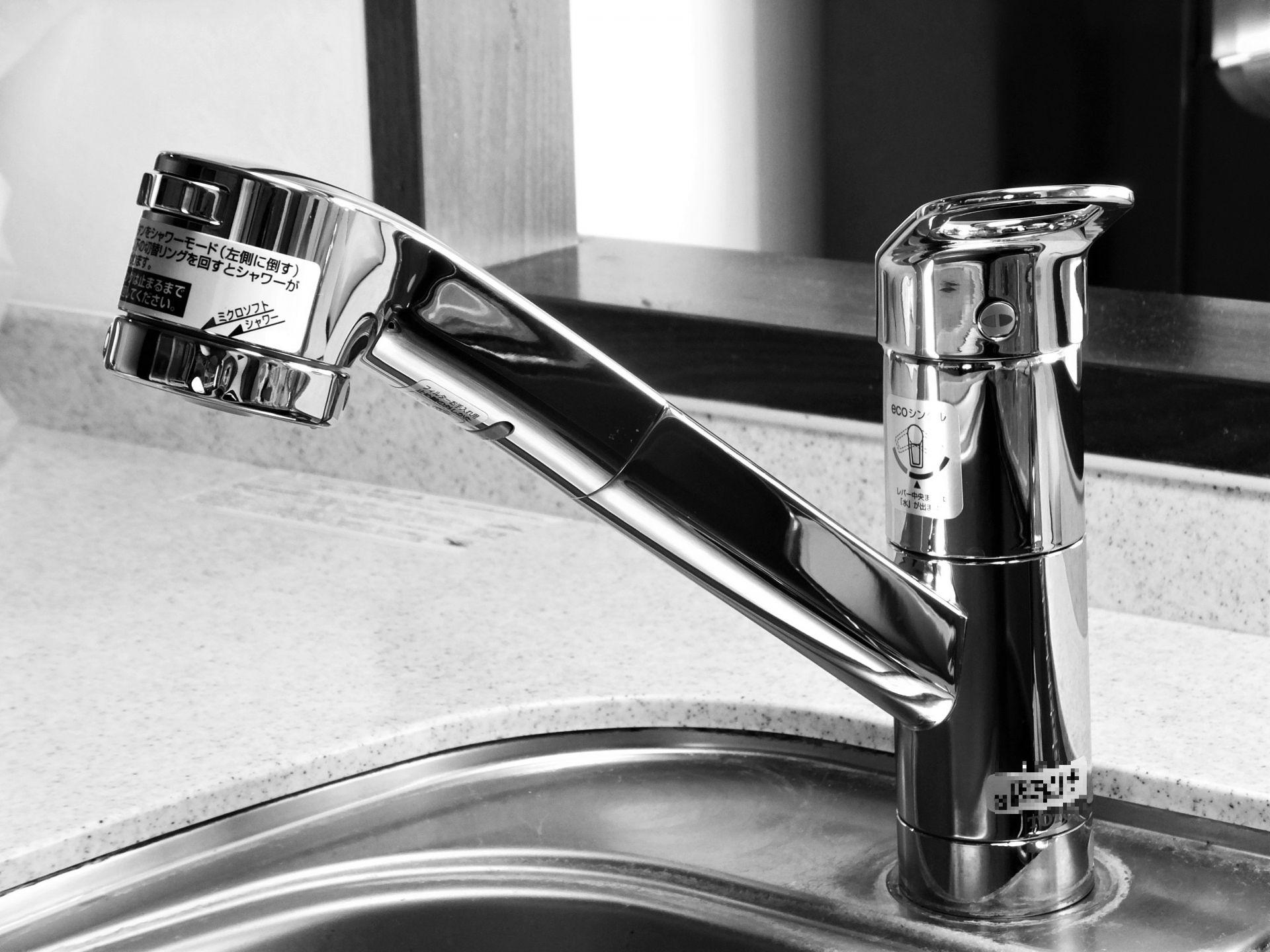 「シングルレバー混合水栓」とは何か?|誰でもわかるリノベ用語集 画像