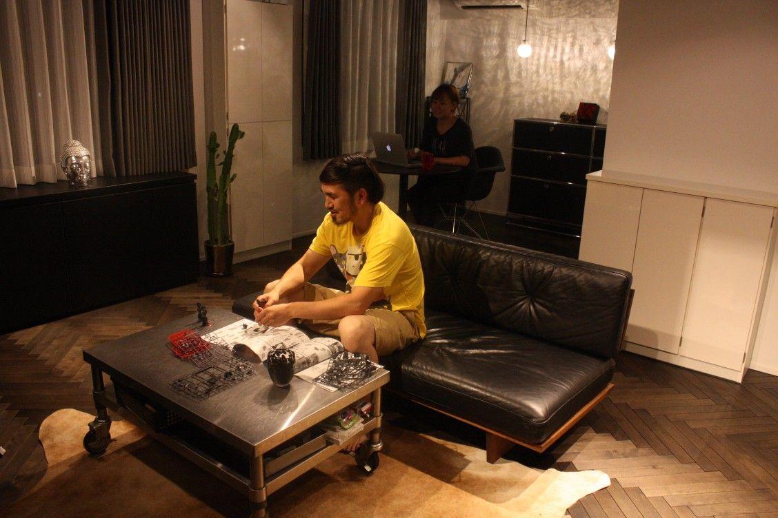 Vol.12【①リノベーション編】ワイルド&モノトーンの家|T邸インタビュー