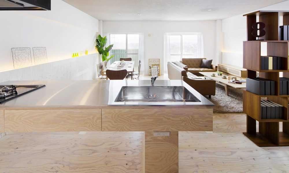 【キッチンデザインの教科書】8.事例|面積60㎡台