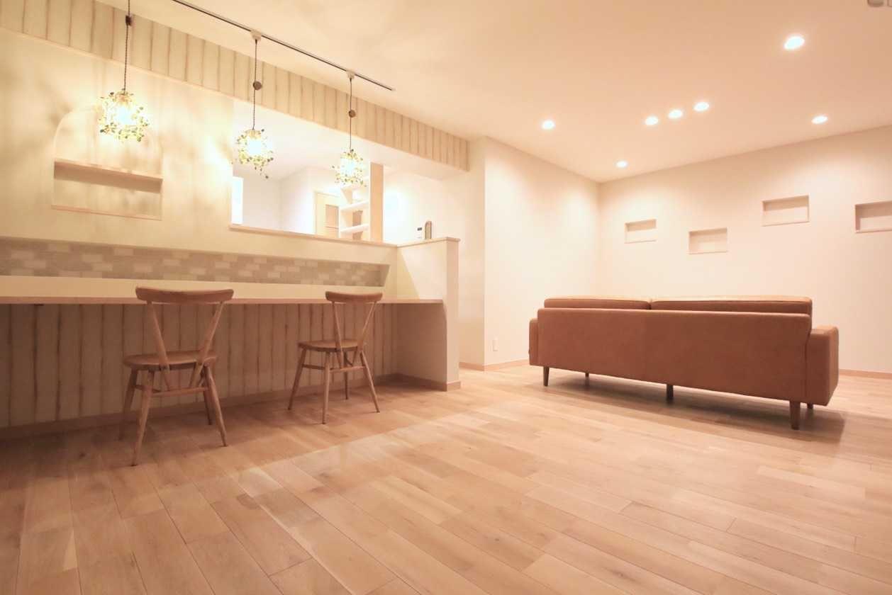 【キッチンデザインの教科書】10.事例|面積70㎡台 Part1~広い空間の活かし方~