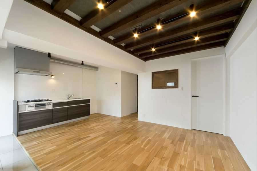 リノベーションで実現できるマンションのCoolな天井特集 画像