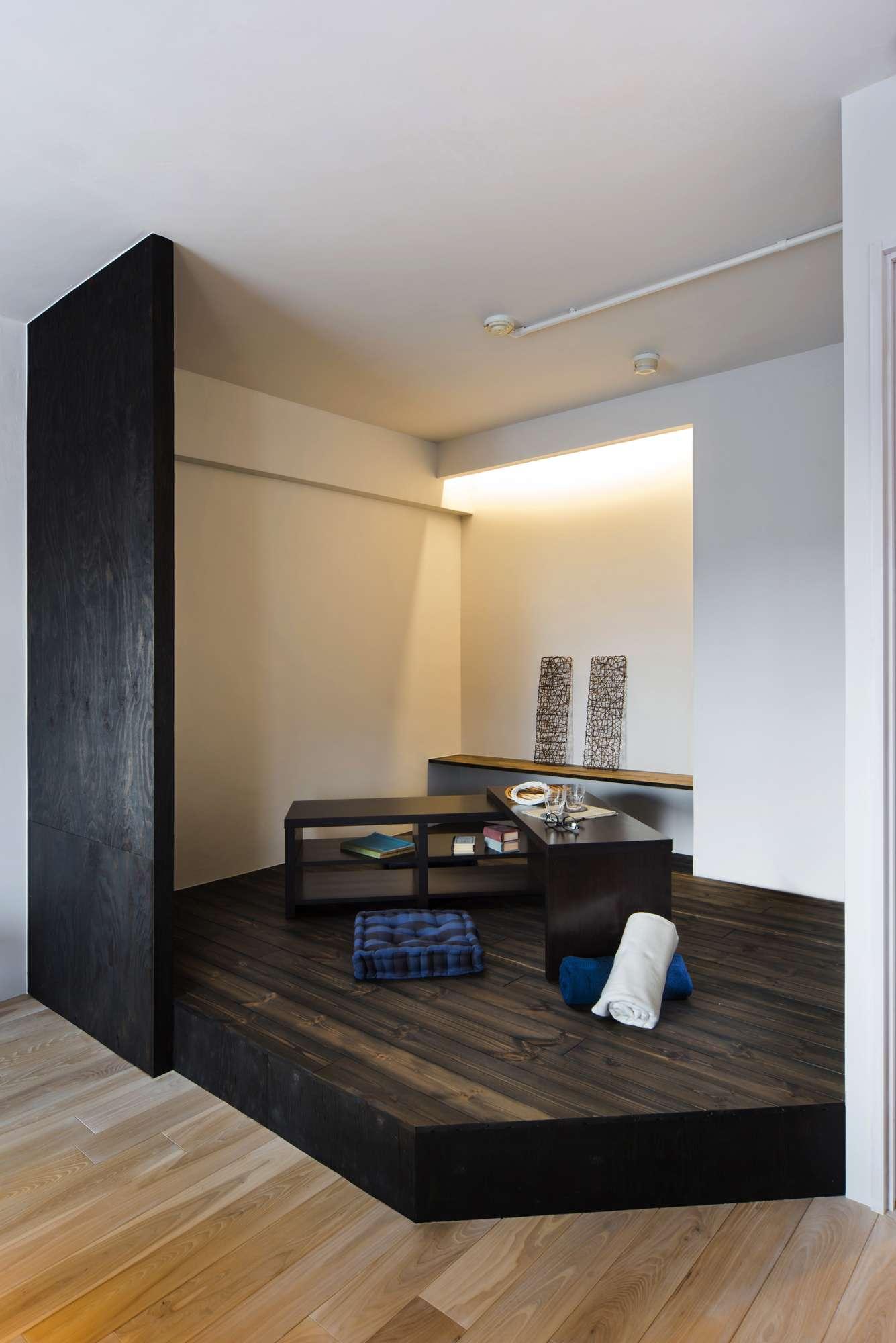 リビングの小上がりを活用 お部屋とはまた違う…半個室スペース特集
