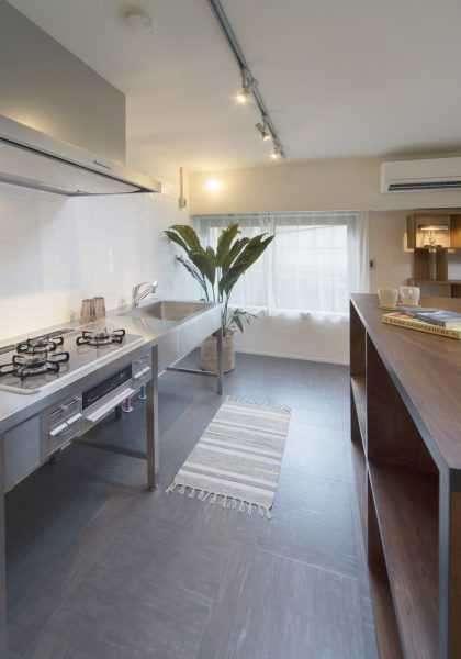 マンション面積53㎡以下の、こだわりキッチン7選 画像