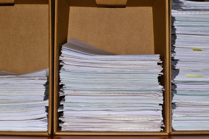簡単にできる書類収納ボックスを作ってみましょう