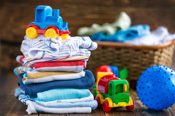 子供服の収納を工夫してクローゼットを使いやすくする方法 画像