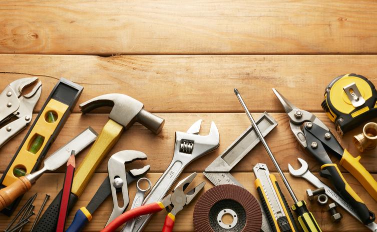 日曜大工をするのに必要な最低限の道具は?