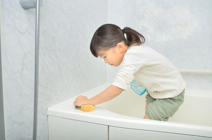 お風呂にカビが!ゴムパッキンのカビを取る方法