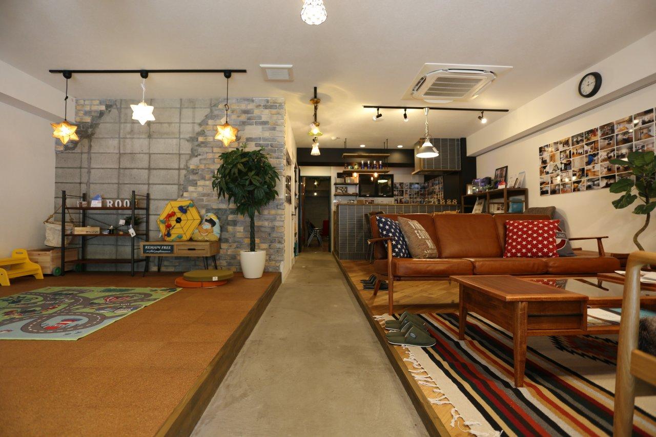 リノベ不動産|スリーエイト ショールーム4 自慢のマンション型ショールームです!