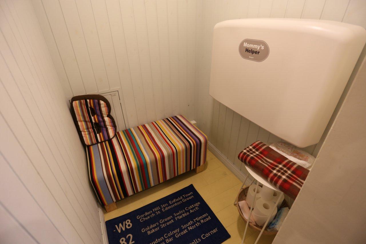 Beat HOUSE ショールーム4 お子様連れにも嬉しい授乳スペースも完備しています。