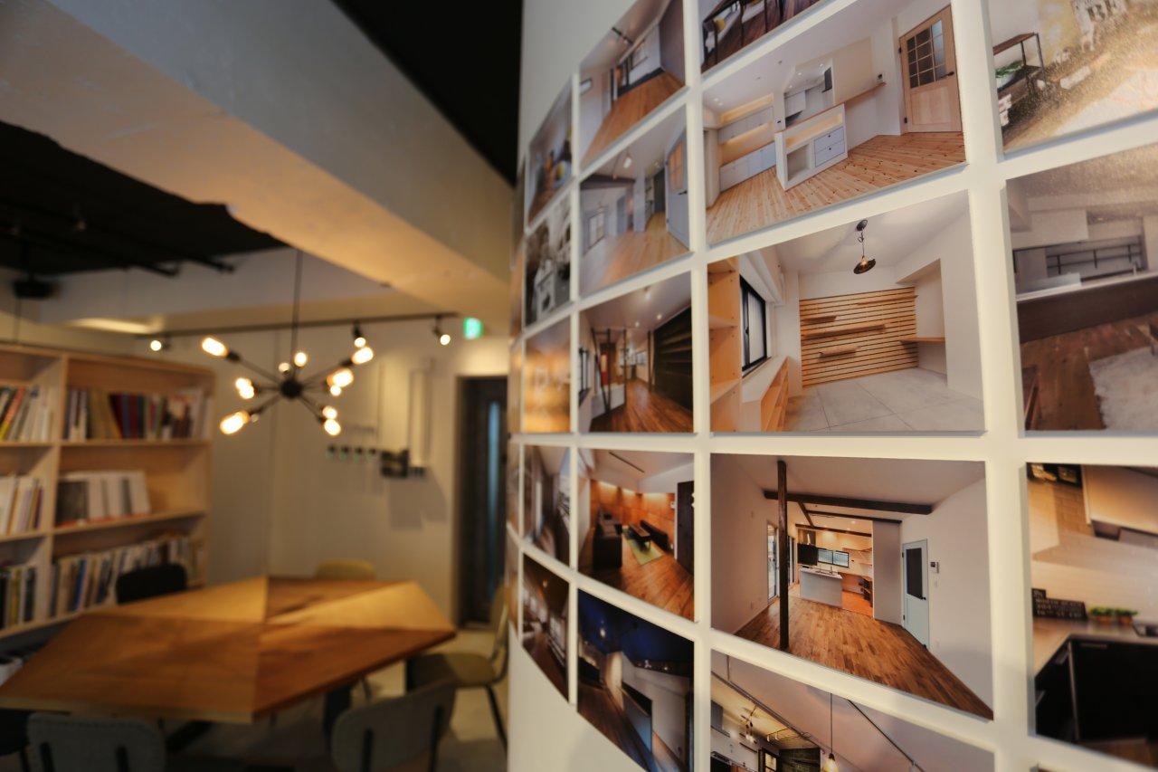 Beat HOUSE ショールーム8 展示されている写真は300枚以上!リノベの参考にどうぞ♪