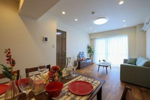 高島台ハウス 【LDK】約15.4帖新生活がすぐに始められる家具付き住戸!