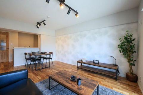 菊名スカイマンションA棟 【LDK】約14.1帖新生活がすぐに始められる家具付き住戸!