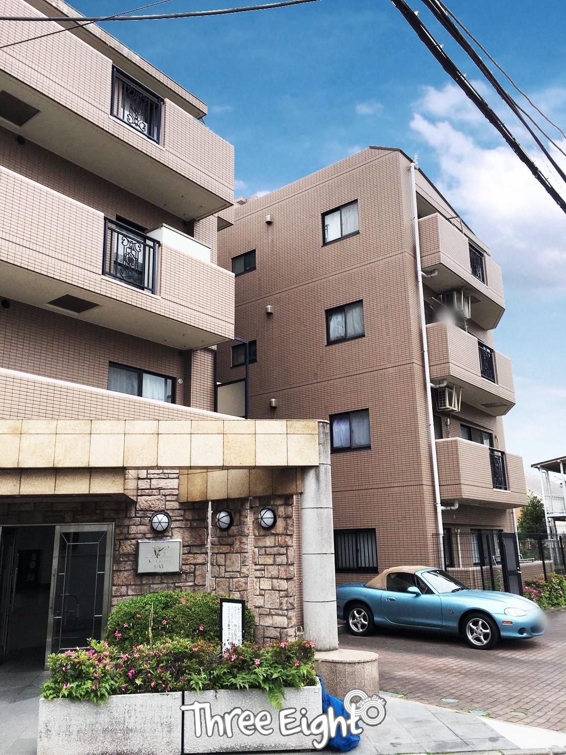 地上5階建、総戸数23戸の小規模コミュニティマンション