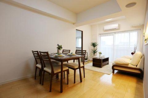 ルリエ横浜宮川町 「LDK」約13.8帖 家具付きなので新生活をすぐスタートで