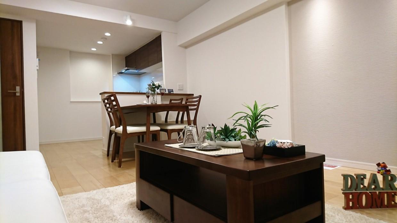 【リビング】デザイナー推奨家具をセットでお付けいたします♪