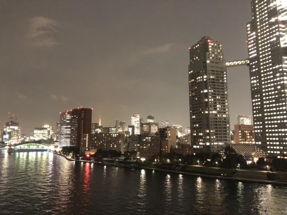 夜には素敵な眺望が広がります。