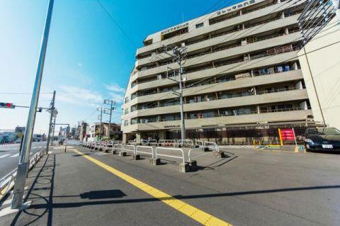 ビレッタ仲六郷 「外観写真」京急蒲田駅より徒歩9分の立地