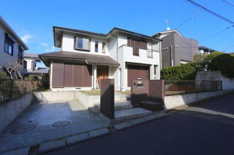 「外観写真」西鎌倉徒歩7分、綺麗な住宅街の戸建
