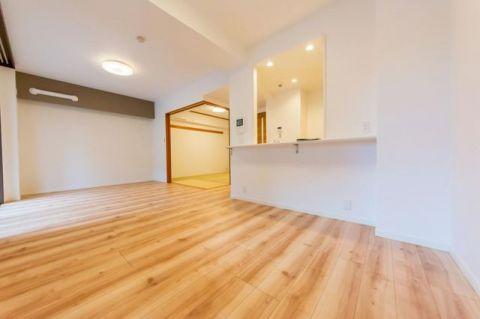 ローブルたまプラーザ 「LDK」約12.3帖 ゆとりを感じさせる居心地の良い空間
