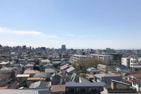 ルーブル笹塚 「眺望写真」前面には遮るものがなく、開放感溢れる眺望が広がり