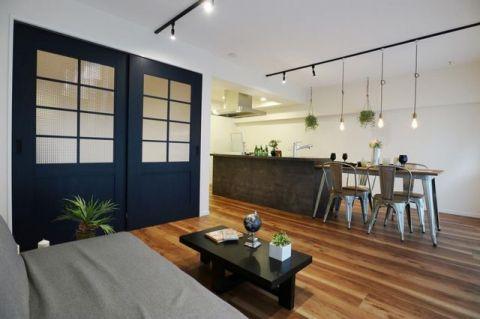 東建第二上町マンション 「LDK」16.0帖 フルリノベーションで生まれ変わった室内