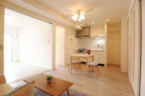 ライオンズマンション東大井 「LDK」約9.3帖 家具・エアコン付き