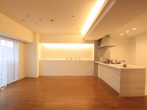 ライオンズマンション三郷早稲田公園 間接照明・ダウンライトをあしら