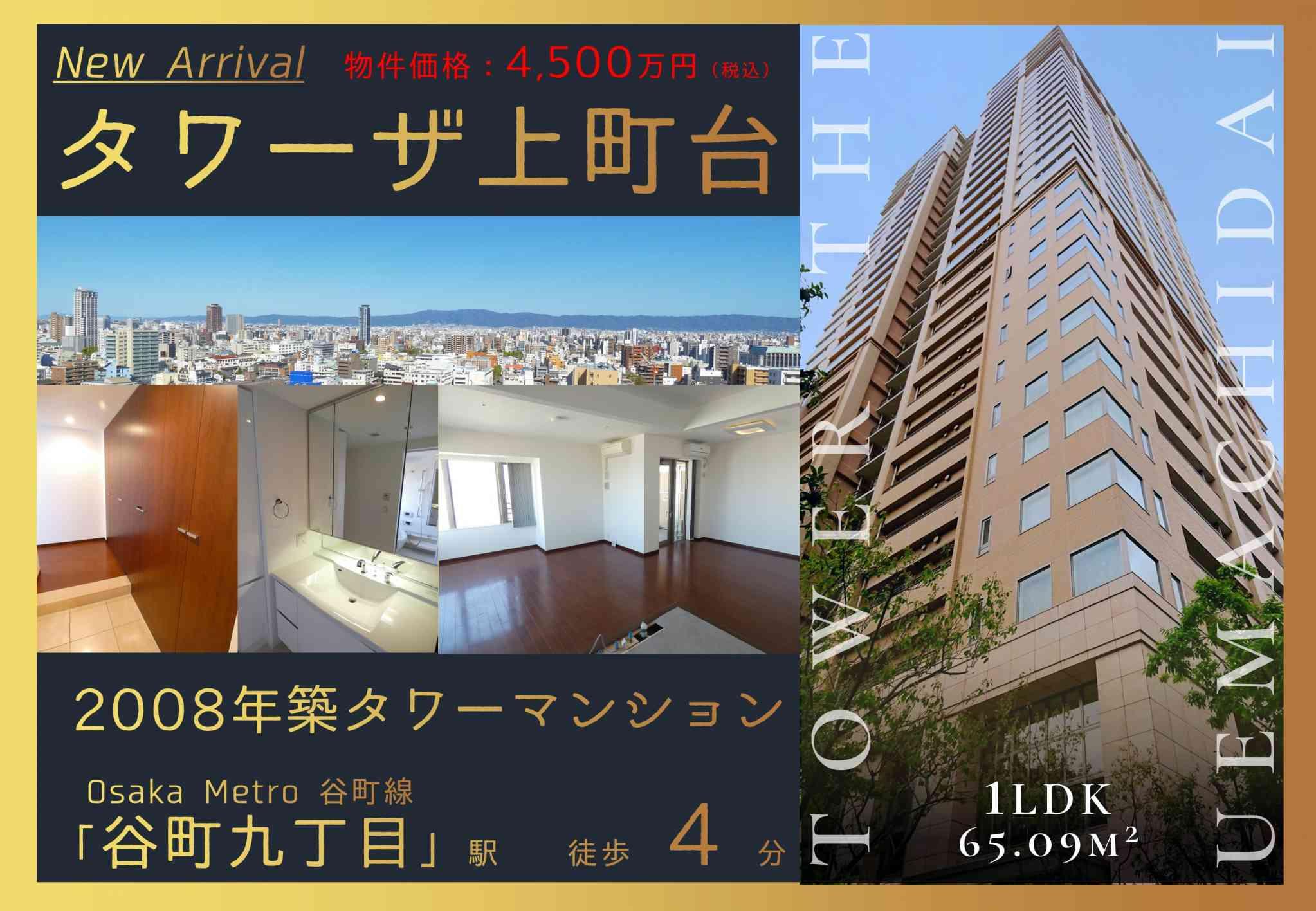 【完全予約制】タワーザ上町台15階 現地見学会開催!!