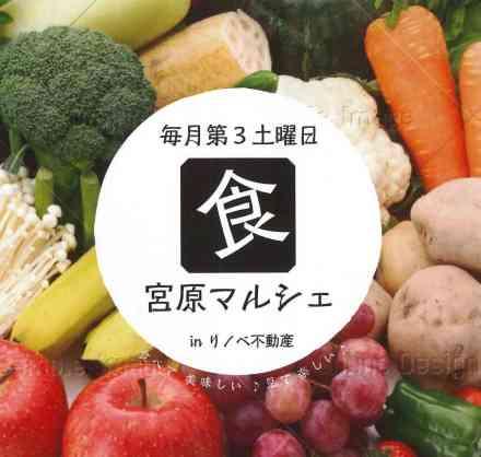 第6回★宮原マルシェ開催!==パンに、野菜に、珈琲に、お味噌に、てんこ盛り!==