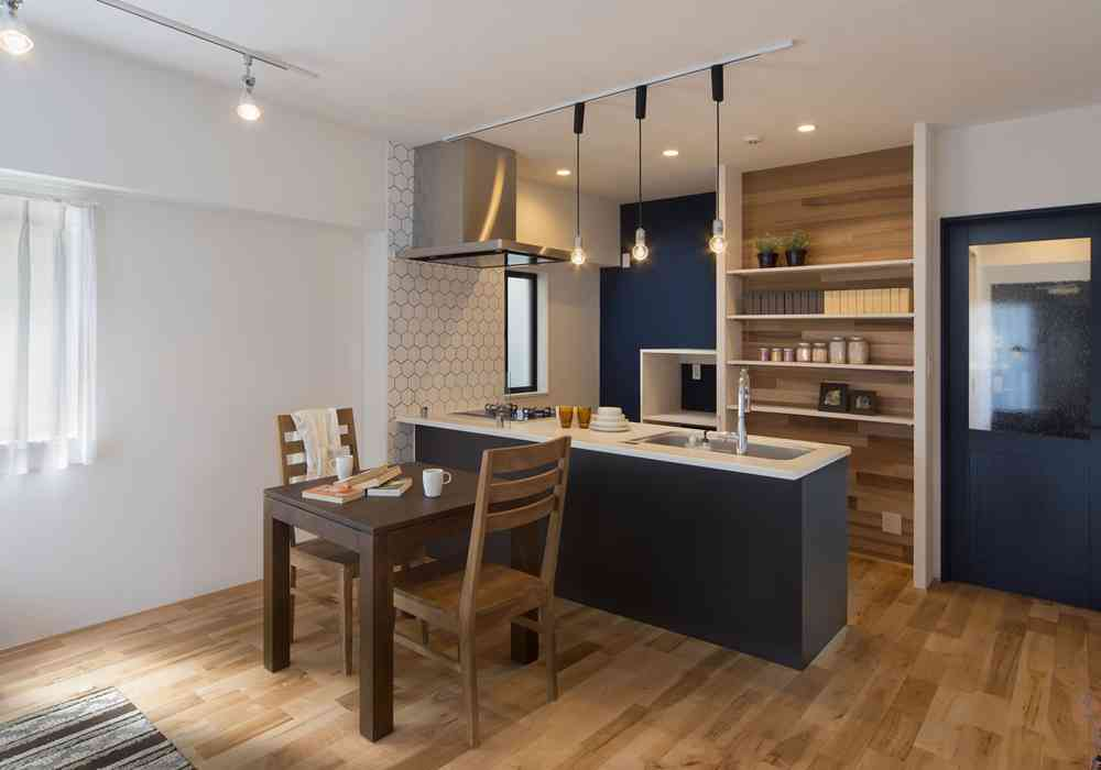 新築よりコストを抑え、注文建築のような空間が実現