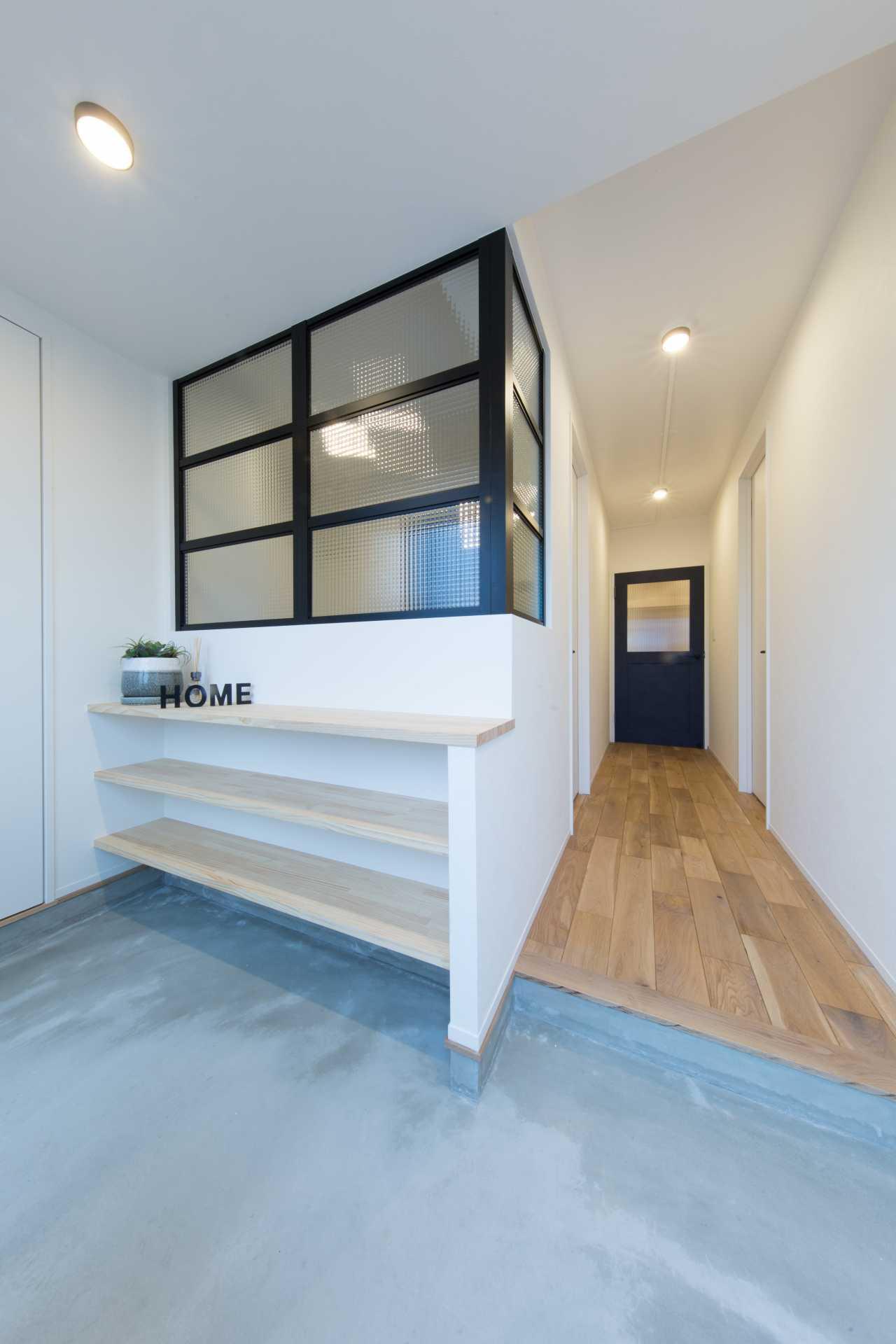 玄関のインパクトで他のマンションとの違いがはっきり表せます。