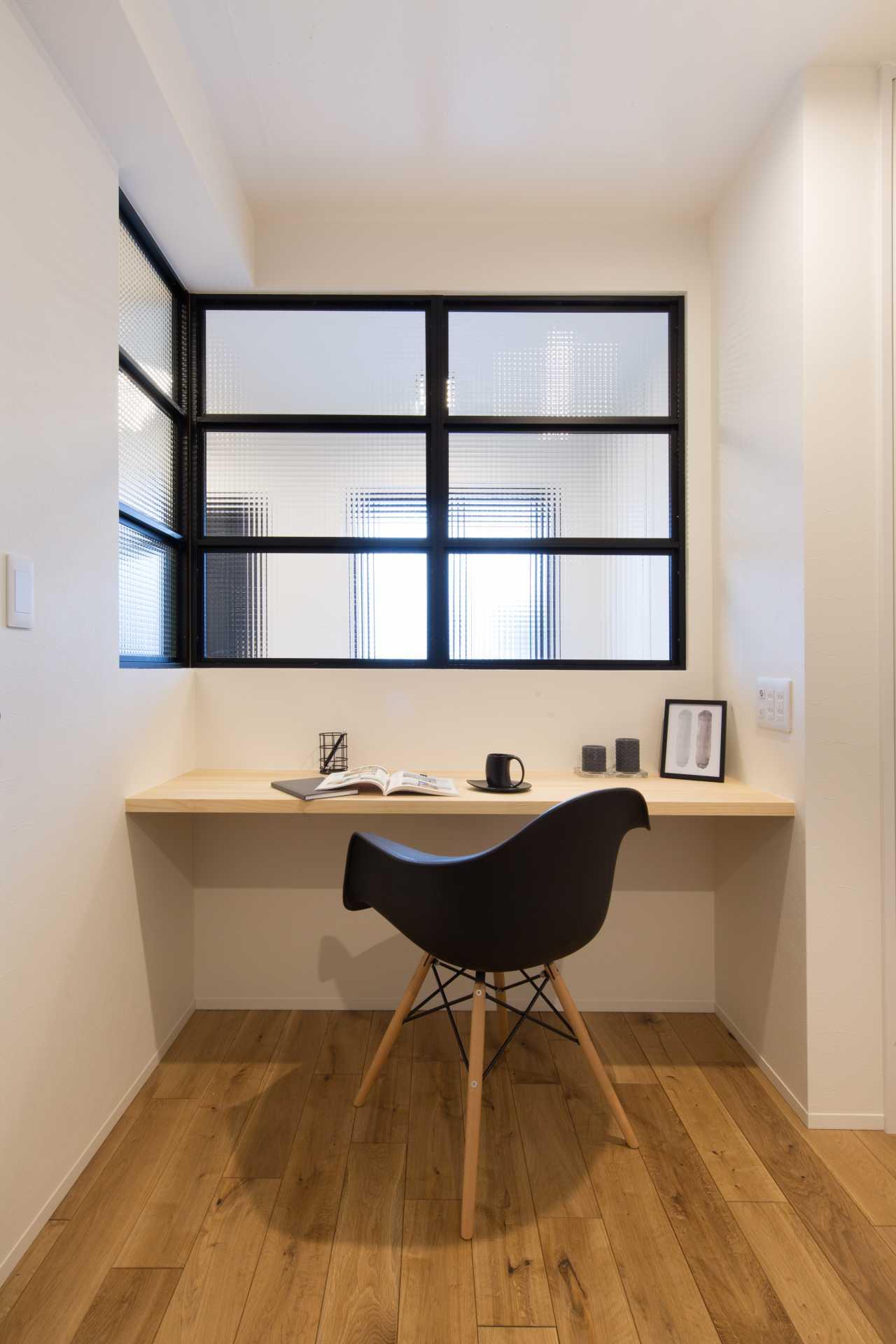 書斎付きでプライベート・スペースもしっかり確保