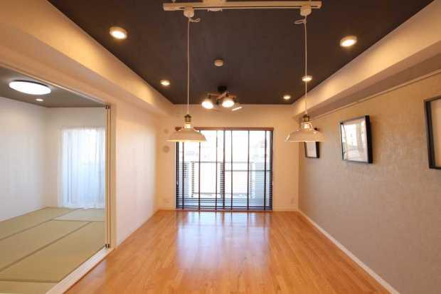 【さいたま市北区】お部屋を広く見せるウッドブラインド