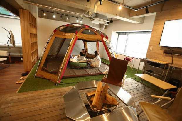 名古屋市東区・オフィス・リノベーション<アウトドアオフィス>